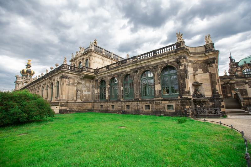 Dresden, Germany - may 27, 2019. Architectural building of Dresden palace Zwinger stock image