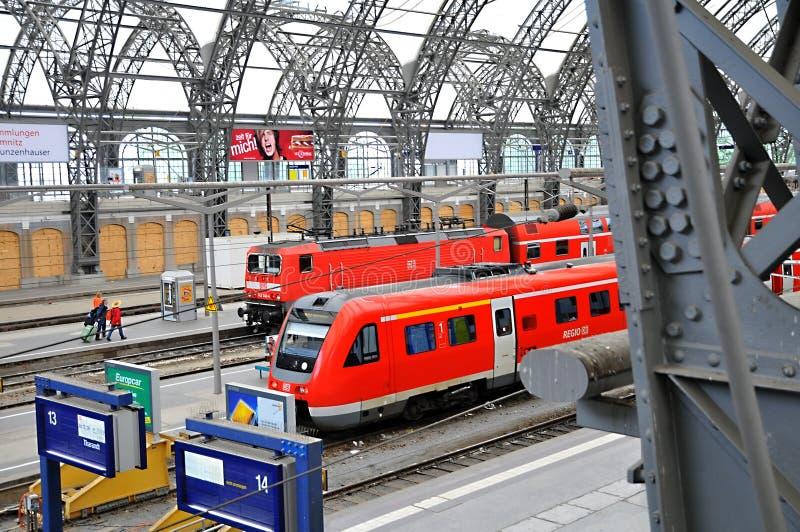 Download Dresden Hauptbahnhof - Train Platform Editorial Stock Image - Image: 17895019