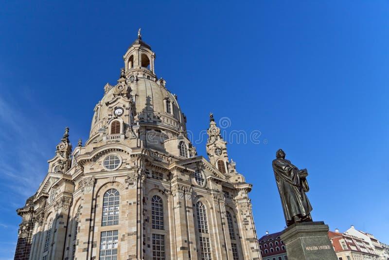 Dresden - iglesia de nuestra señora fotos de archivo libres de regalías