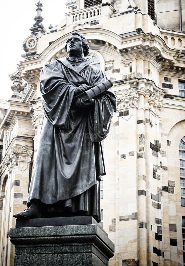 Dresden Martin Luther 01a stock photos