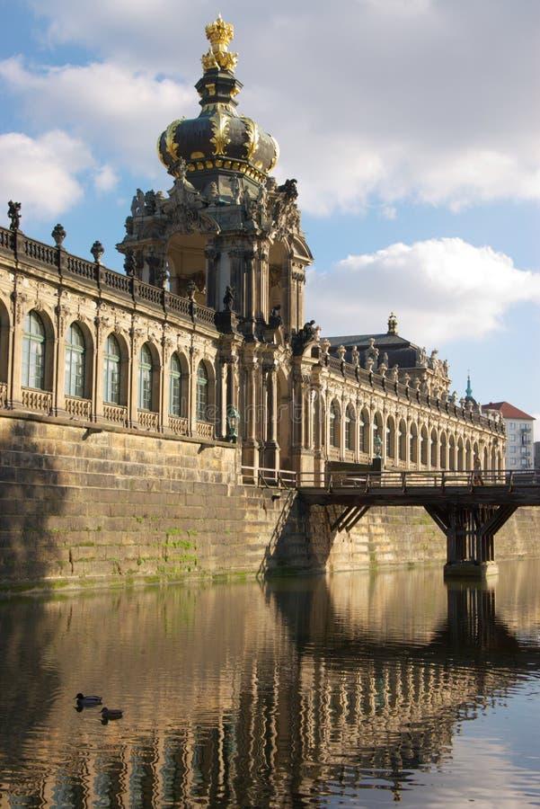 dresden pałac izoluje zwinger obrazy stock