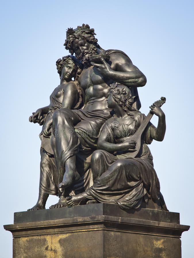 Download Dresden statue stock photo. Image of black, blue, sandstone - 20917720