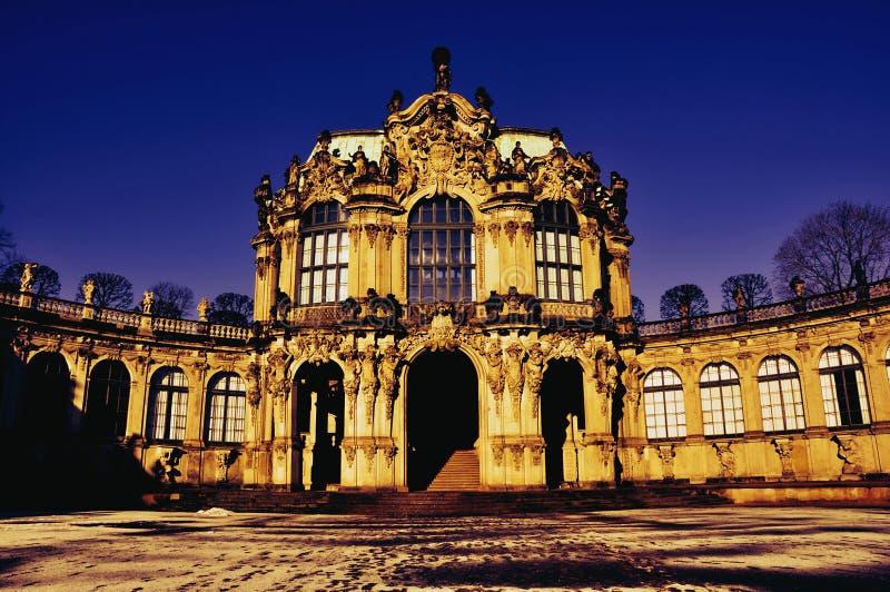 Dresden - Zwinger imagen de archivo
