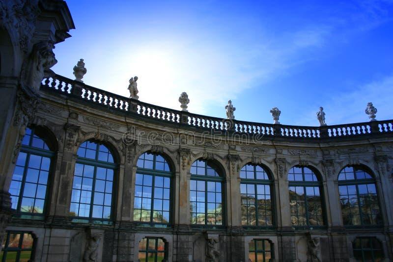 Dresdner Zwinger 1 imagens de stock royalty free