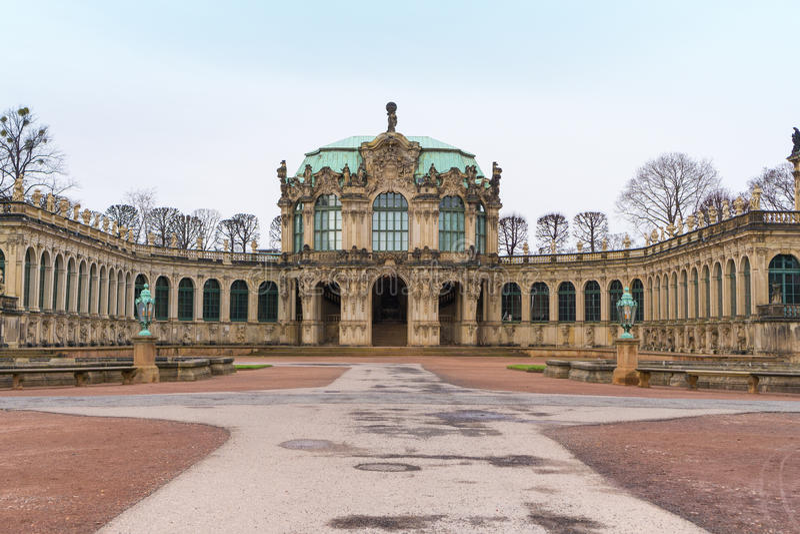 Dresdner Zwinger imágenes de archivo libres de regalías