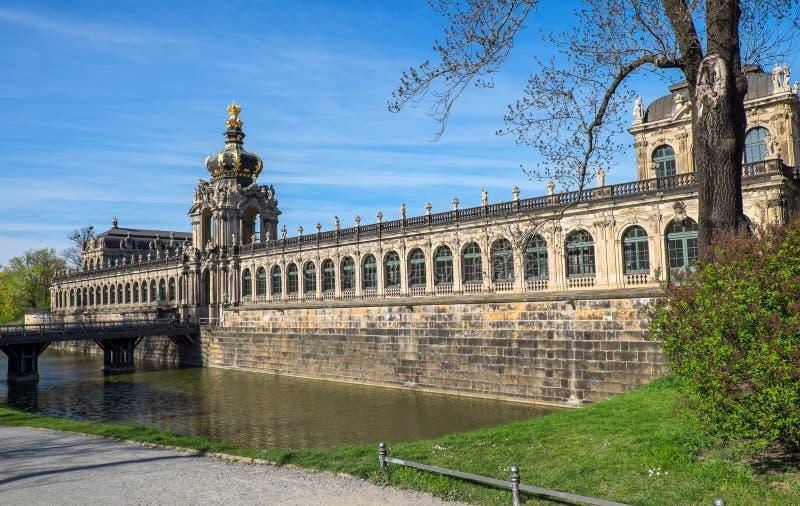 Dresdner Zwinger en Dresden fotografía de archivo