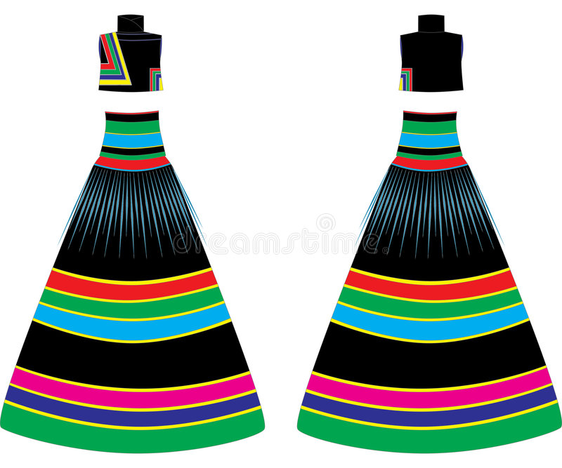 Download Dress stock illustration. Image of back, hanger, gown - 7216359