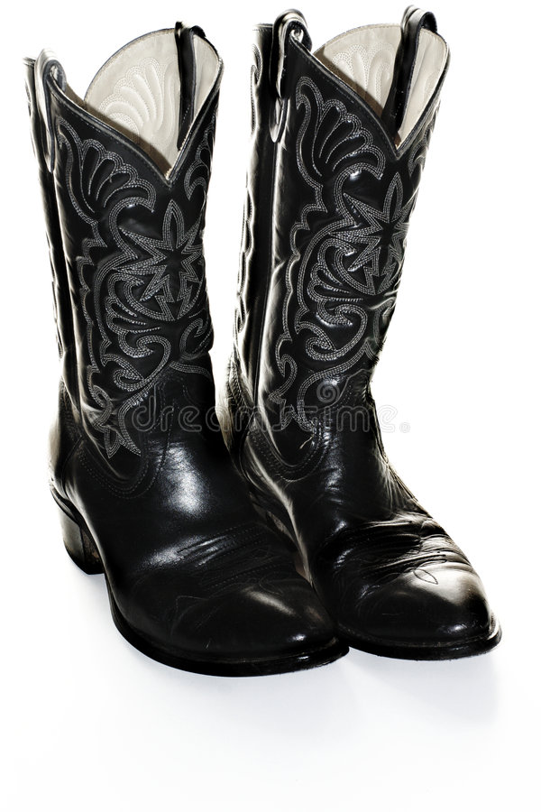 Dress Boots royalty free stock photography