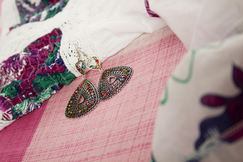Download Dress And Earrings Stock Photography - Image: 22741852