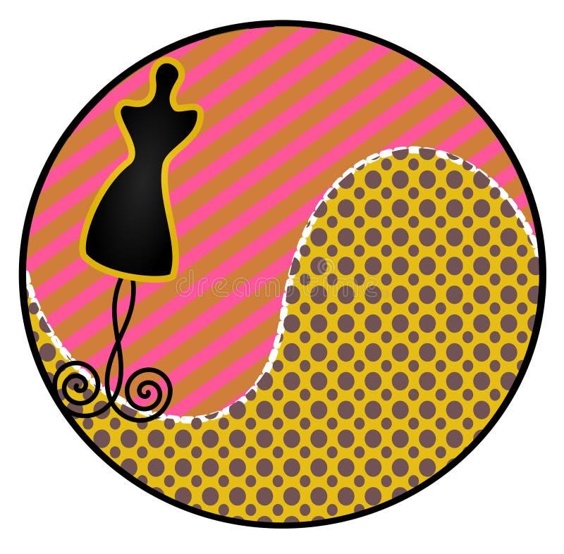 Download Dress Form Sticker stock illustration. Image of form - 32114751