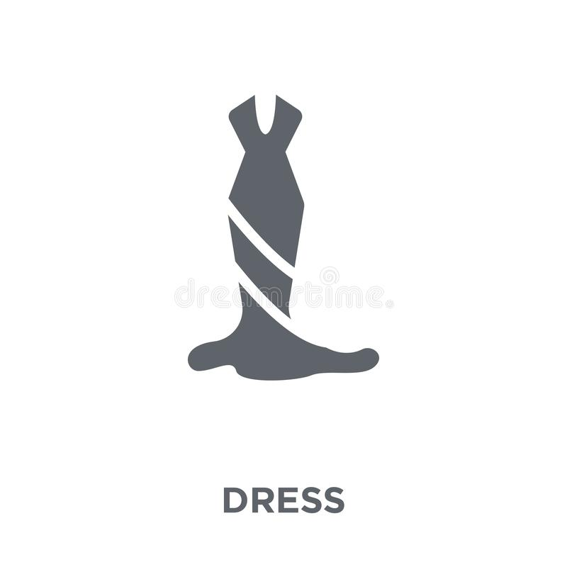 Dress icon from collection. vector illustration