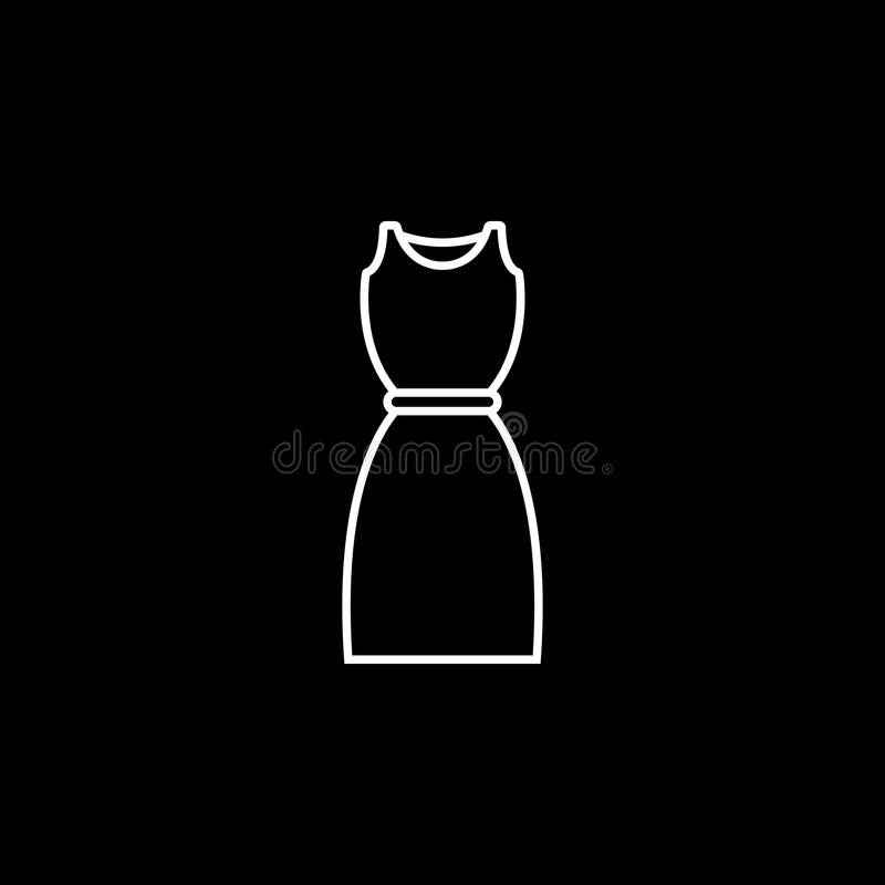 Dress Icon stock illustration