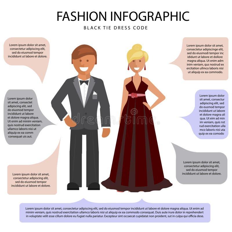 White Tie Dress Code Stock Vector Illustration Of Business 107272284