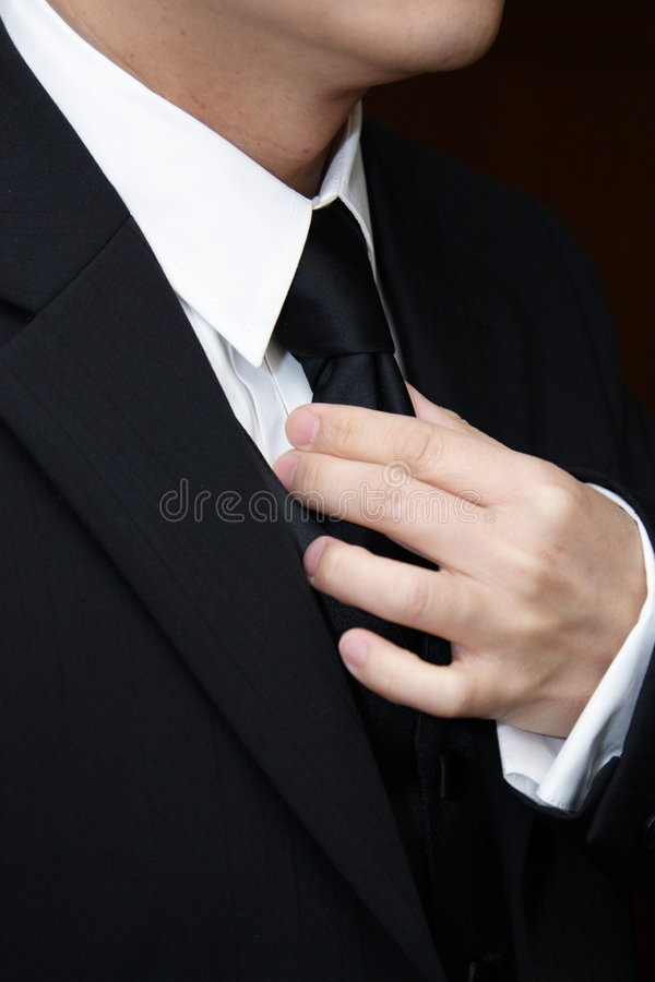 Dress for Success stock photo