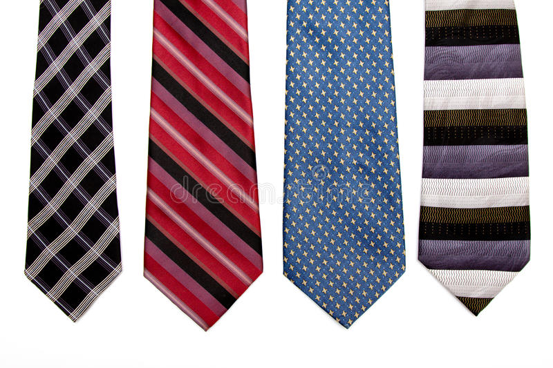 Download Dress ties stock image. Image of blue, white, black, isolated - 12691793