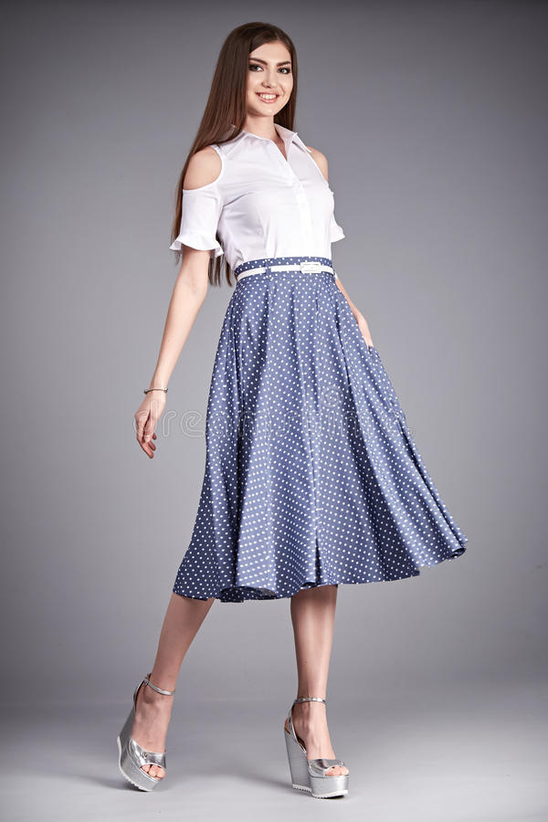 Dress Woman Clothes Fashion Style Model Collection Blouse ...