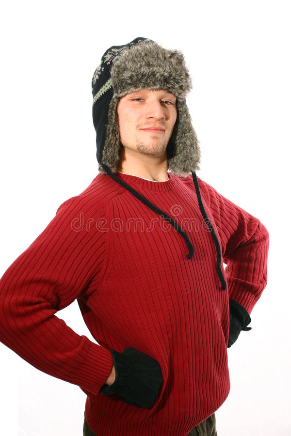 Free Dressed For Winter Royalty Free Stock Image - 7414426