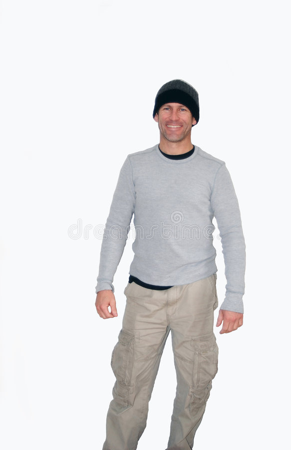 Dressed for the Outdoors stock image