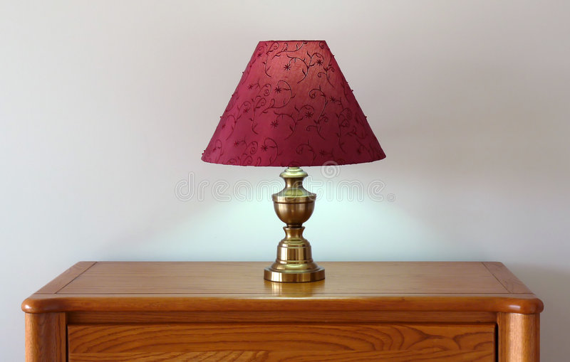 Dresser Table Lamp royalty free stock image
