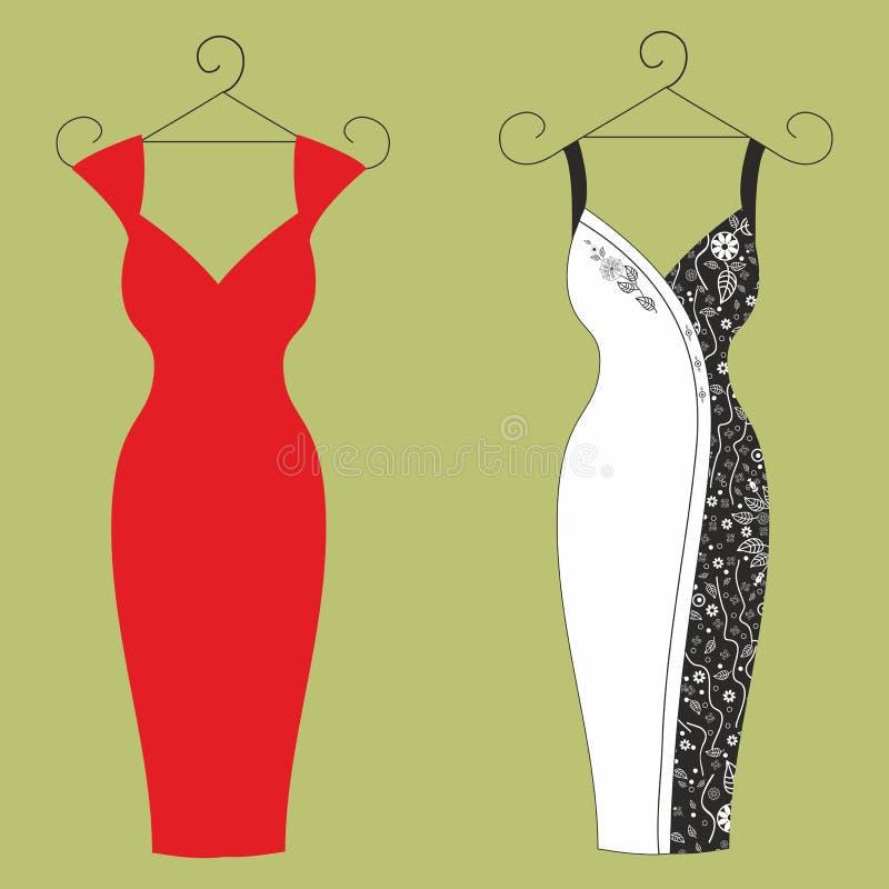 Dresses for girls stock photo