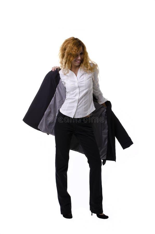 Dresses a raincoat stock images