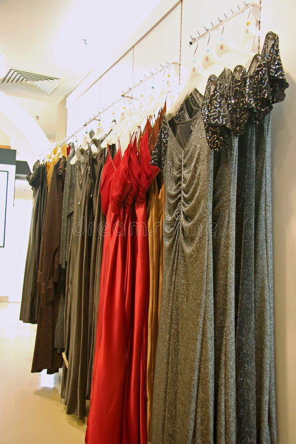 Download Dresses for sale stock photo. Image of clothing, display - 5415102