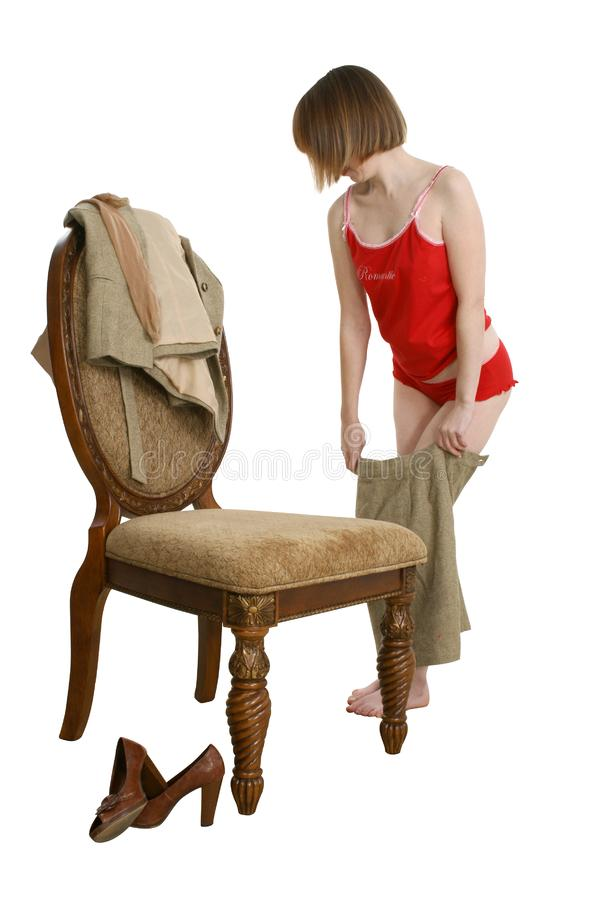 Download Dressing Stock Image - Image: 3460961