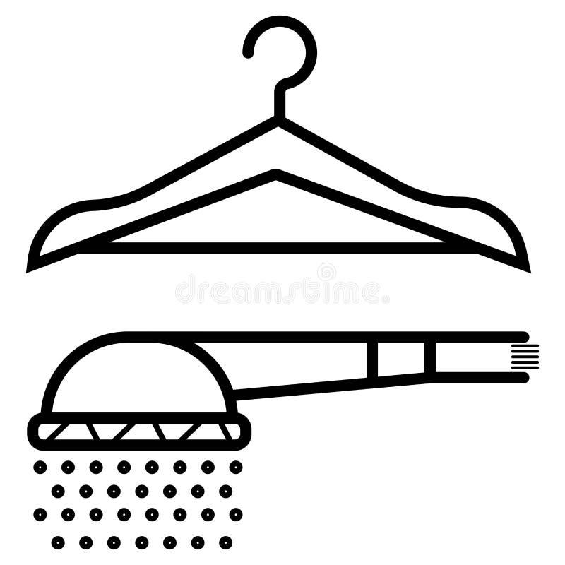 Dressing room vector icon stock illustration