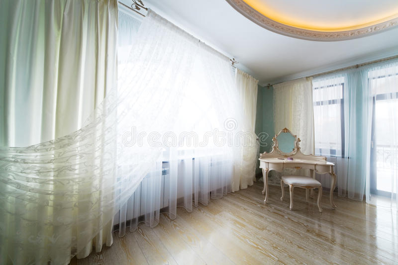 Download Dressing table stock photo. Image of dressing, flat, curtain - 15902862