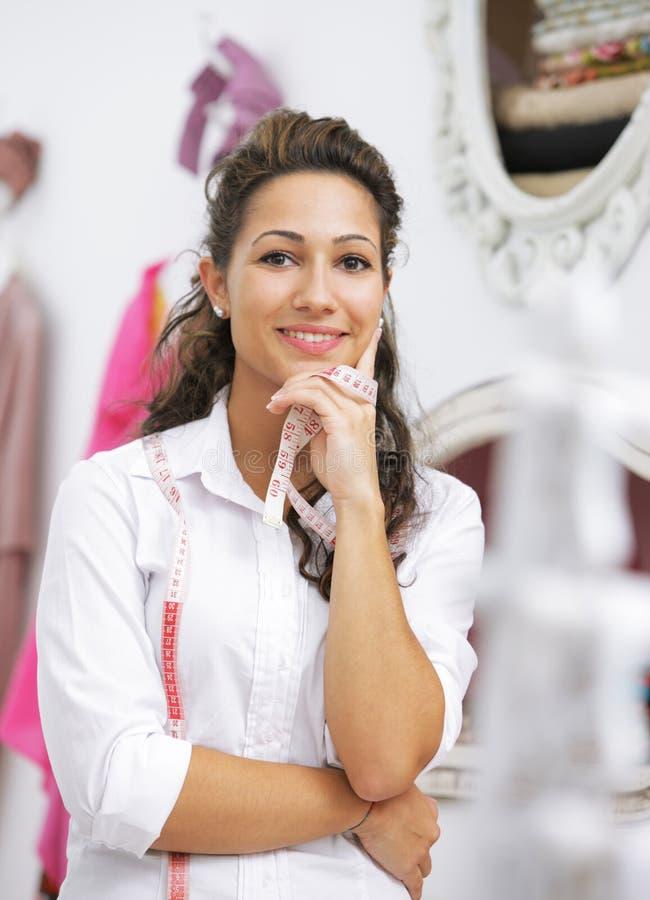 Download Dressmaker stock image. Image of bright, female, fashion - 27115809