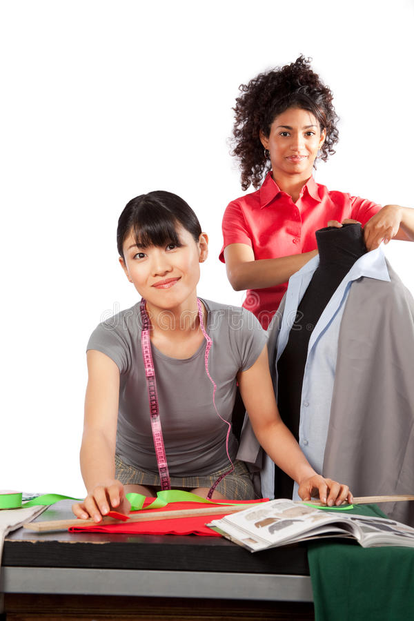 Dressmaker at Work royalty free stock images