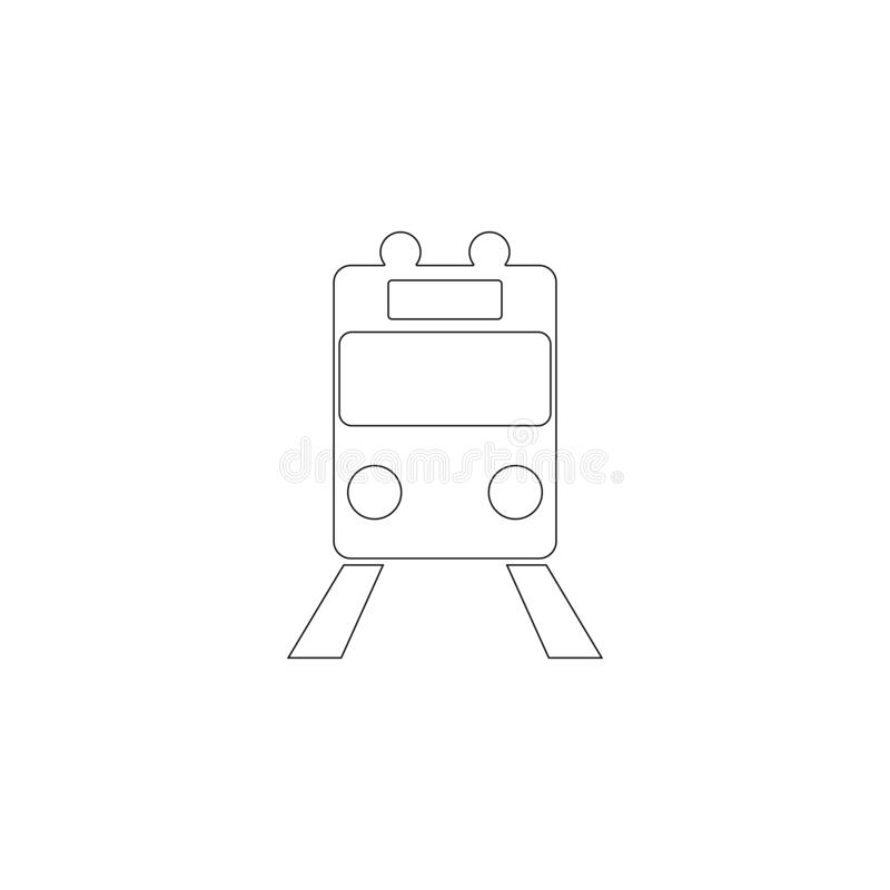drev Plan vektorsymbol royaltyfria bilder