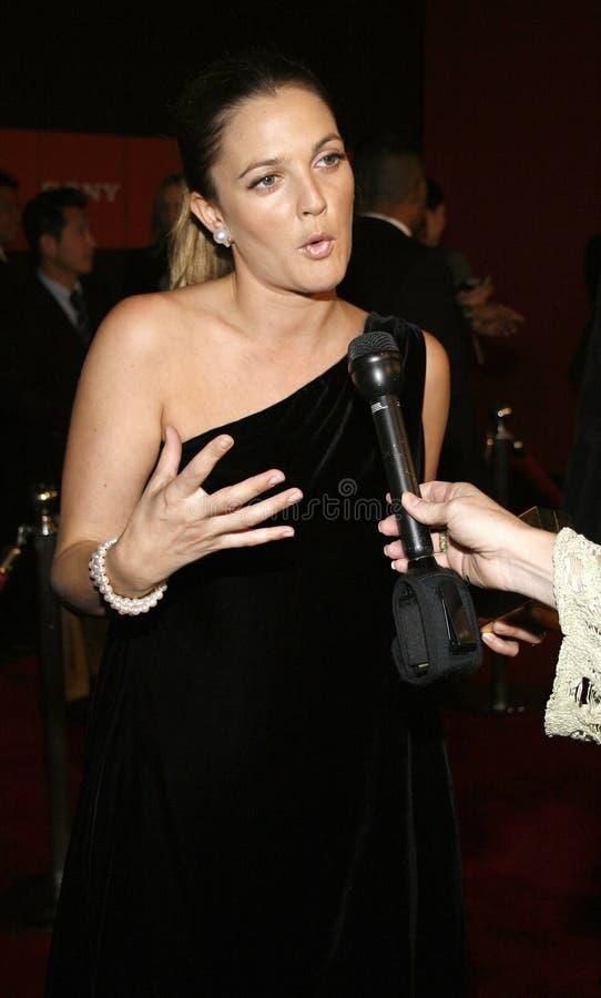 Drew Barrymore stock foto