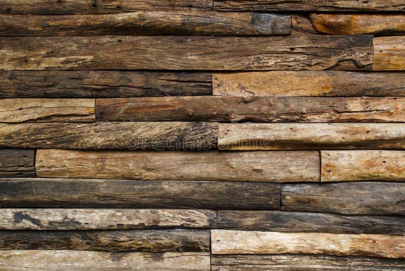 Drewna ściany tekstura obrazy stock