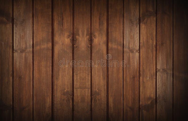 Drewna Ścienny tło obrazy royalty free