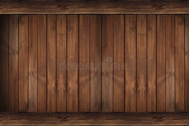 Drewna Ścienny tło obrazy stock