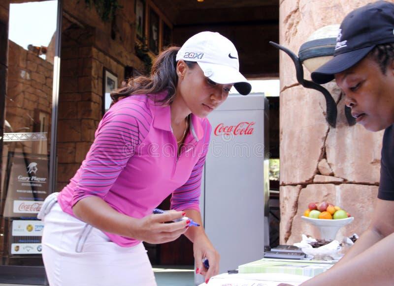 DREWNA CHEYENNE PRO golfista zdjęcie stock