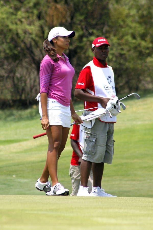 DREWNA CHEYENNE PRO golfista obraz stock