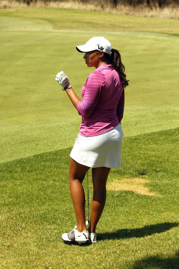 DREWNA CHEYENNE PRO golfista fotografia stock