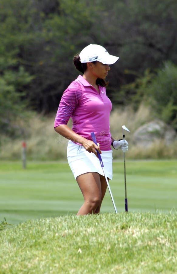 DREWNA CHEYENNE PRO golfista zdjęcia royalty free