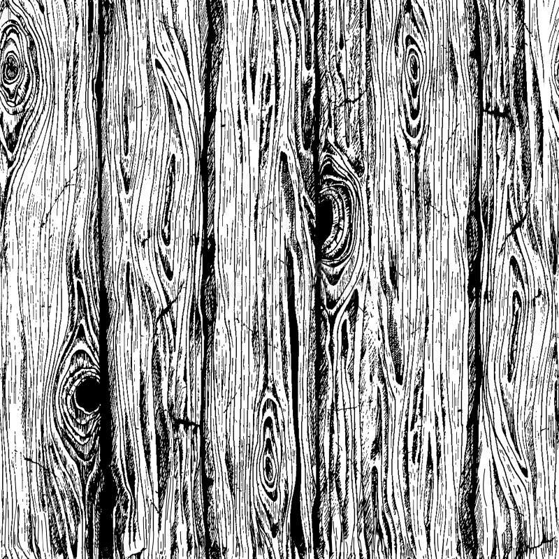 Drewna deski tekstura royalty ilustracja