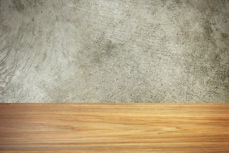 Drewna i cementu tekstury wizerunku materiał dla tła obraz royalty free