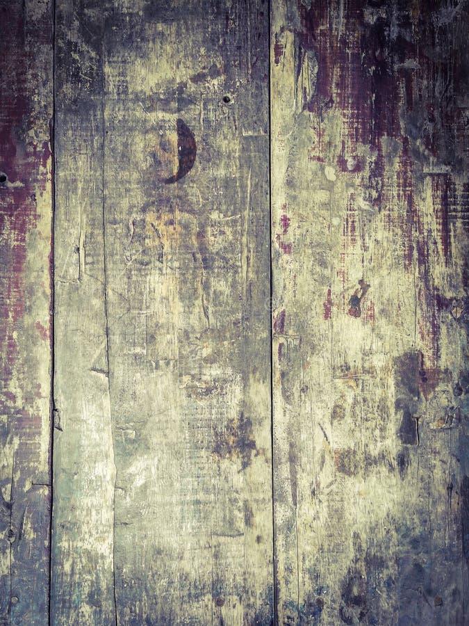 Drewna stołowy topveiw fotografia stock