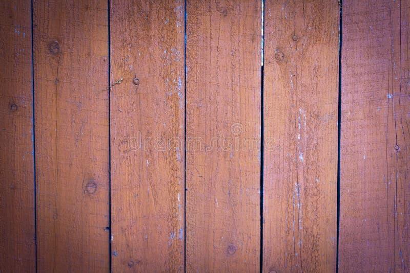 Drewniana ściana plamiąca z plamą obrazy royalty free