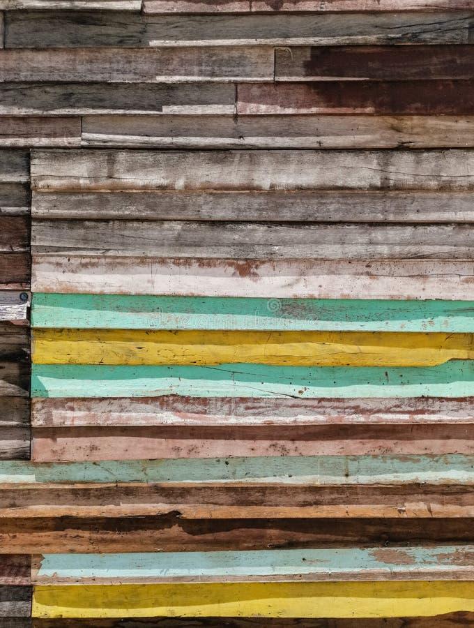 Drewniana ściennego panelu tekstura obraz stock