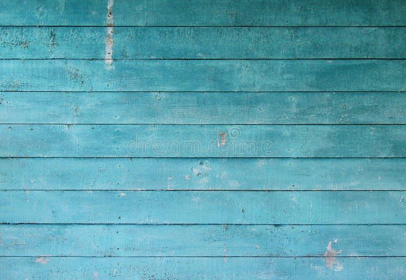 Drewniana błękitna stara tekstura zdjęcie royalty free