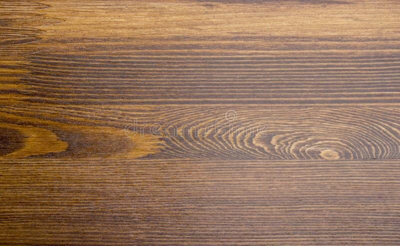 Drewniana brąz adry tekstura, odgórny widok drewniany stołowy drewno ściany tło obrazy royalty free