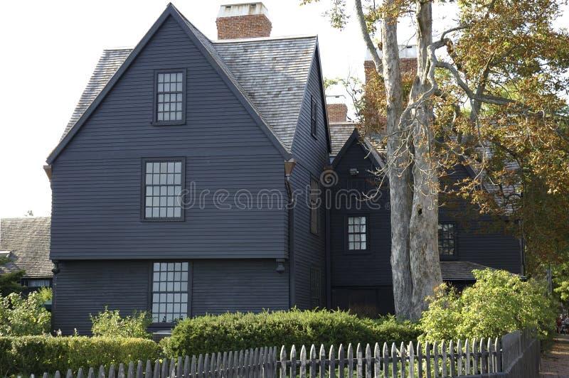 drewniana chata amerykańska zdjęcia stock