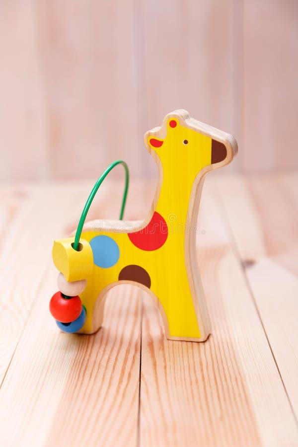 Drewniana colourful koń zabawka zdjęcie royalty free