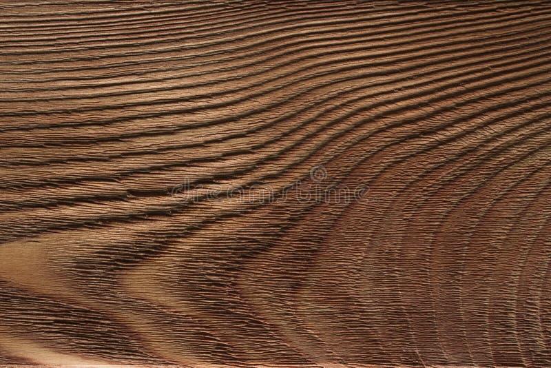 Drewniana deska, ciemnego brązu deska, rocznika tło obrazy stock